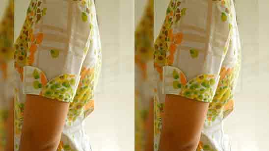 Long Sleeves Design For Kurti