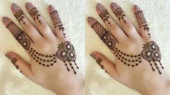 Mehandi Design In Bridal