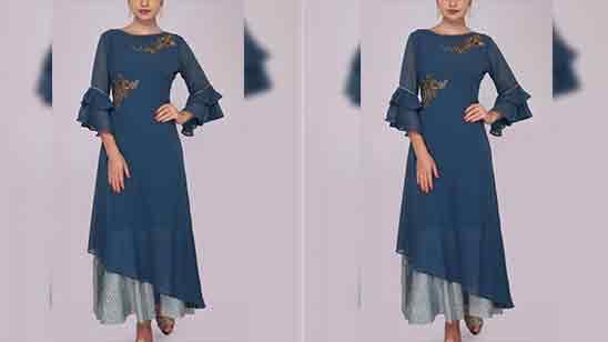 Modern Sleeves Design For Kurti