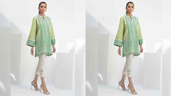 Net Sleeves Design For Kurti