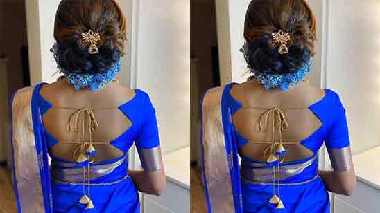 New Model Blouse Back Neck Designs