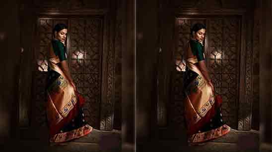 Paithani Blouse Back Design Images