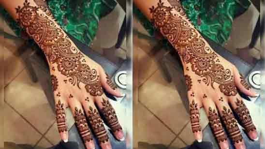 Pakistani Bridal Mehndi Designs