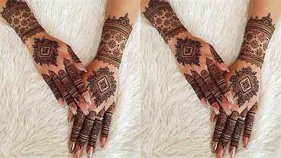 Pakistani Bridal Mehndi