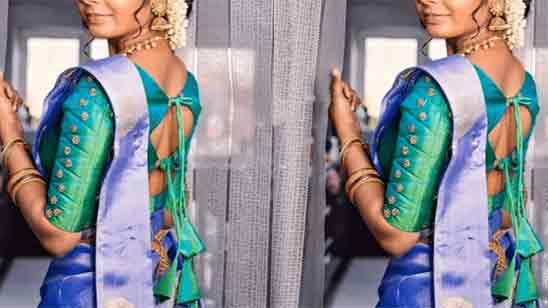 Pattu Saree Blouse Back Designs 2019
