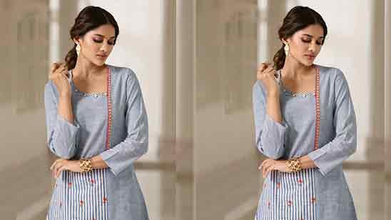 Punjabi Dress Front Neck Design