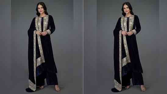 Punjabi Front Neck Design of Suits