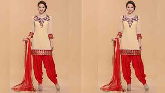 Punjabi Neck Suit Design