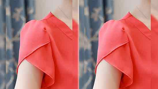 Short Sleeves Design For Kurti