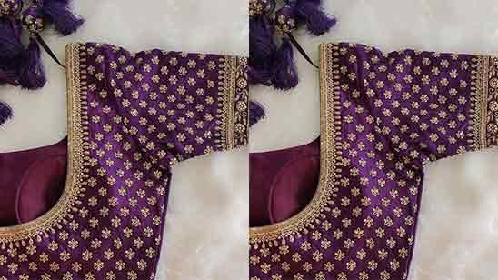 Simple Aari Work Designs For Blouse
