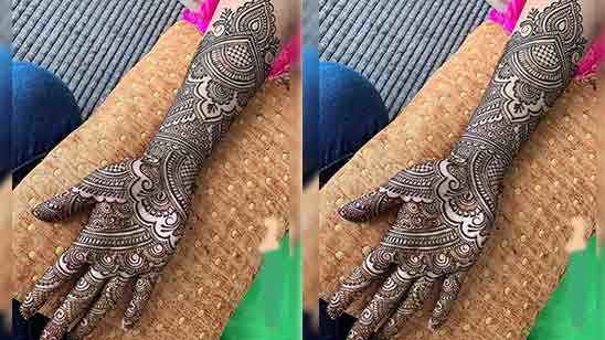 Simple And Easy Full Hand Mehndi Designs