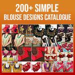 Simple Blouse Back Design