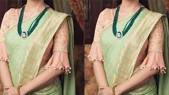 Simple Blouse Sleeve Designs