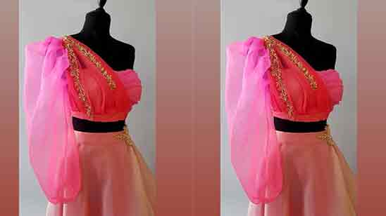 Simple Blouse Sleeves Design