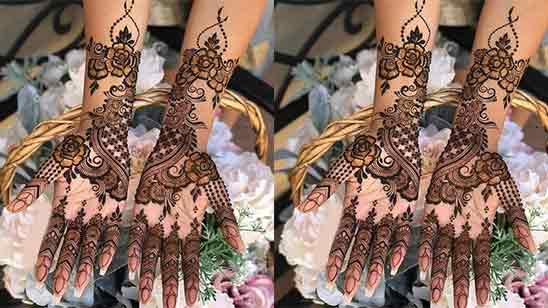 Simple Easy Arabic Mehndi Designs For Full Hands