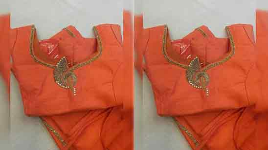 Simple Embroidery Designs For Blouse