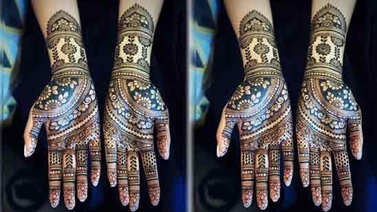 Simple Full Hand Mehndi