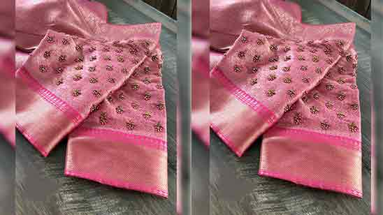 Simple Hand Embroidery Designs For Blouse