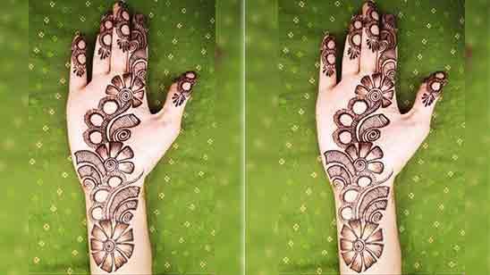 Stylish Arabic Mehndi Designs For Full Hands