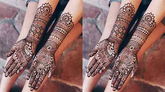 Stylish Hand Mehndi Design
