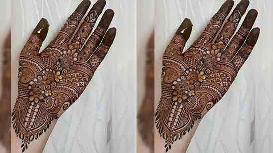 Stylish Mehndi Design Back Hand