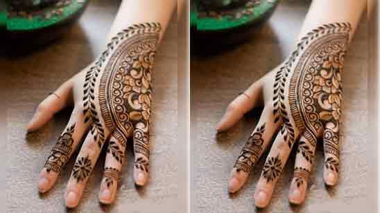 Stylish Mehndi Design Full Hand