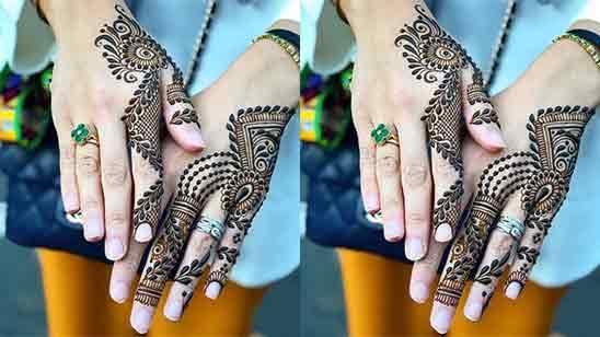 Stylish Mehndi Designs Full Hand