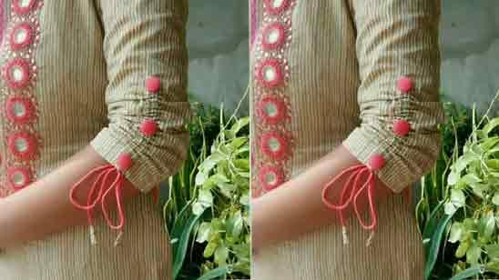 Stylish Sleeves Design For Kurti