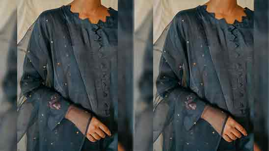 Suit Front and Back Neck Designs