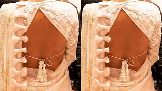 Traditional Blouse Back Neck Designs