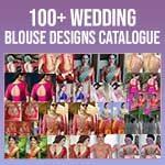 Wedding Blouse Back Design