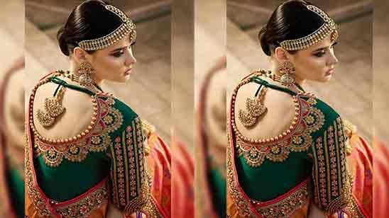 Wedding Blouse Model