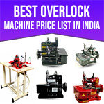 Best Overlock Machine Price in India