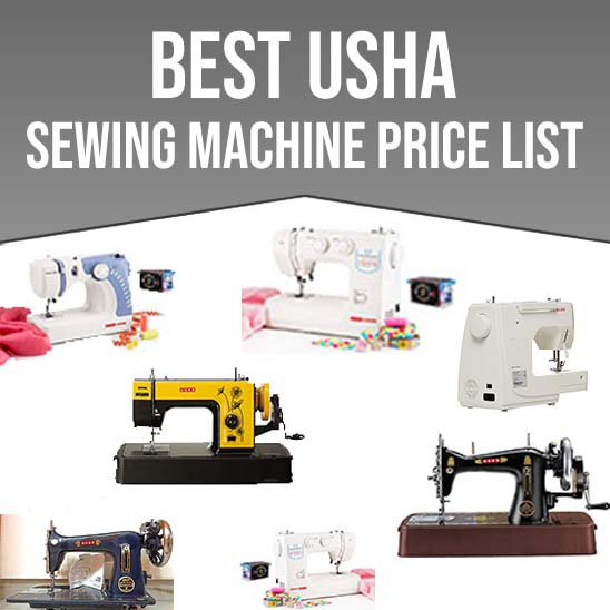 Usha Sewing Machine Price in India