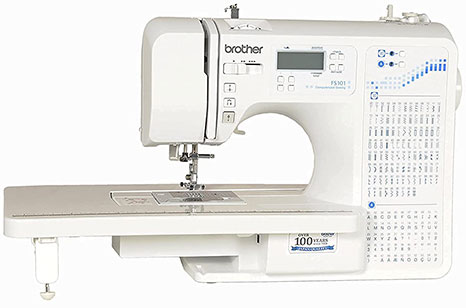 Brother Fs 101 Computerized Sewing Machine