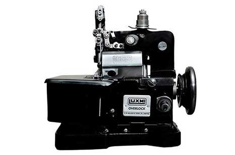 LUXMI OVERLOCK Sewing Machine, Red;Black