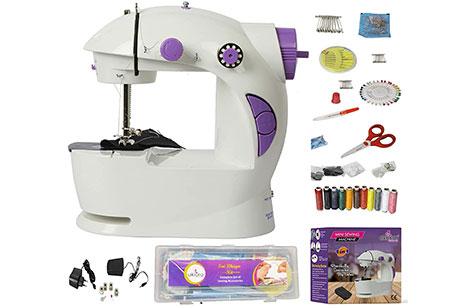 Akiara Mini Sewing Machine for Home, Tailoring Use