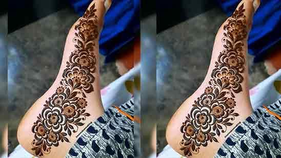 Bridal Foot Mehndi