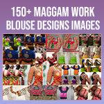 Marriage Bridal Maggam Work Blouse Designs
