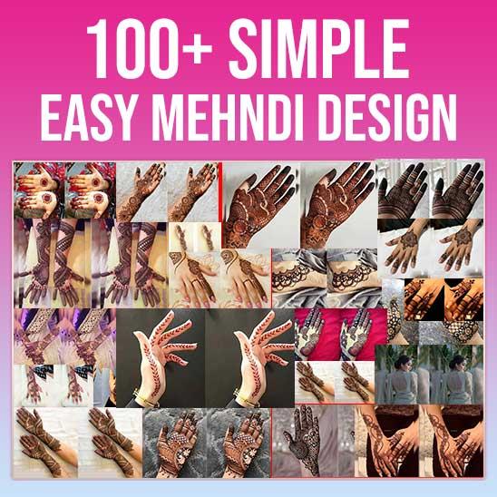 Simple Easy Mehndi Design